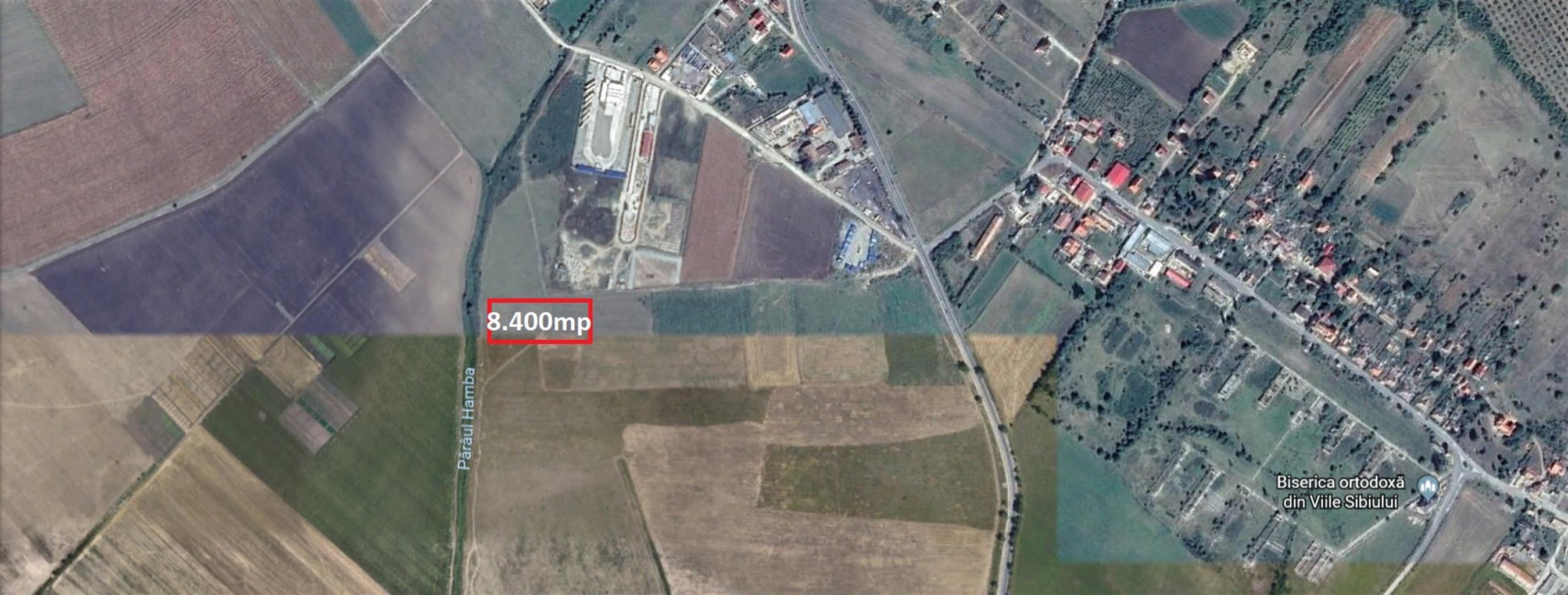 Teren intravilan industrial Nord Sibiu