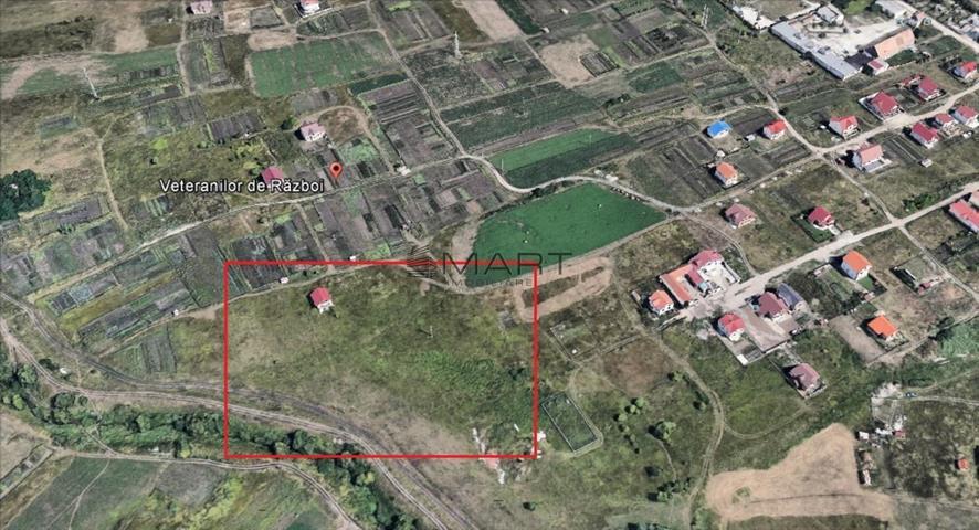 Teren intravilan zona Veteranilor de Razboi