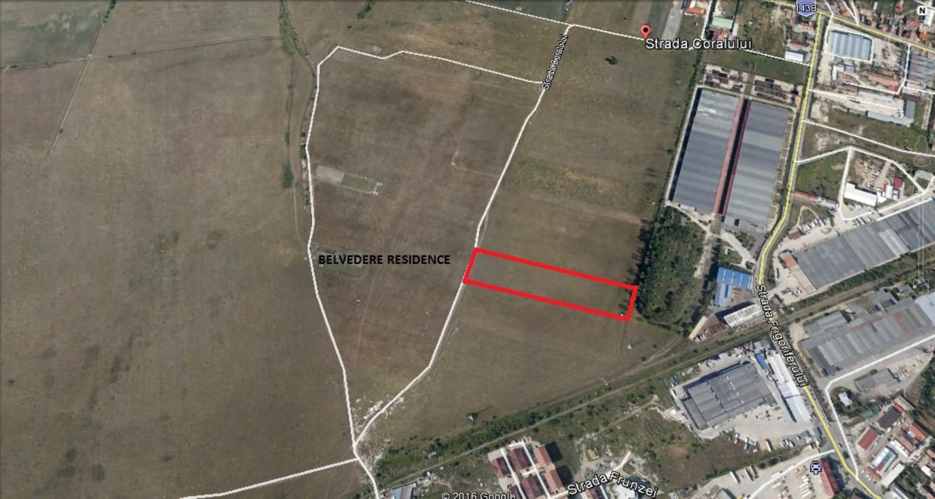 Teren industrial intravilan zona Turnisor – Calea Surii Mici