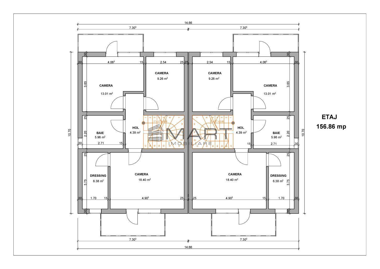 Casa tip duplex 4 camere zona Selimbar