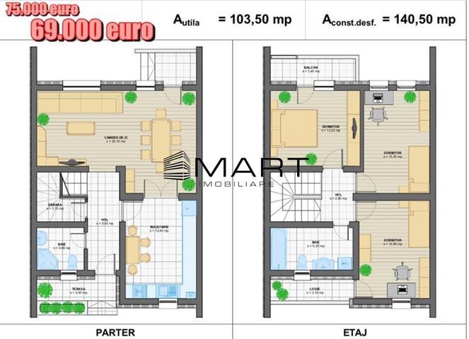Casa tip Duplex zona Selimbar langa Primarie
