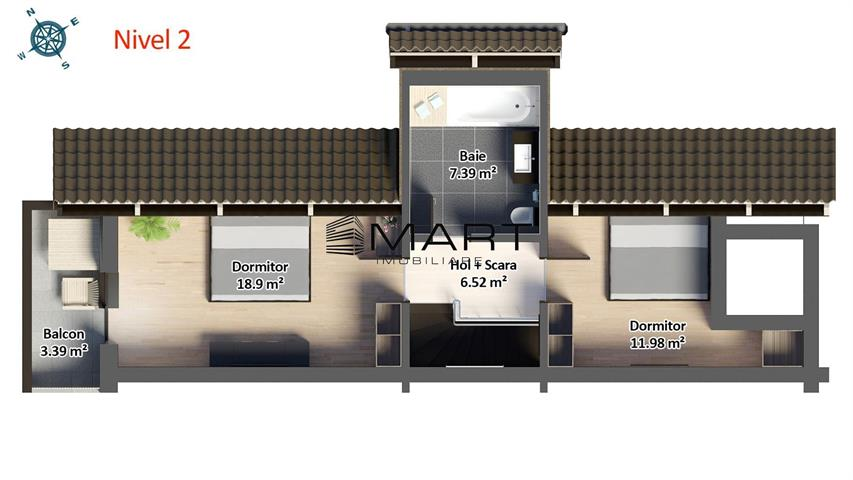 Apartament spatios 4 camere bloc cu lift si pivnita