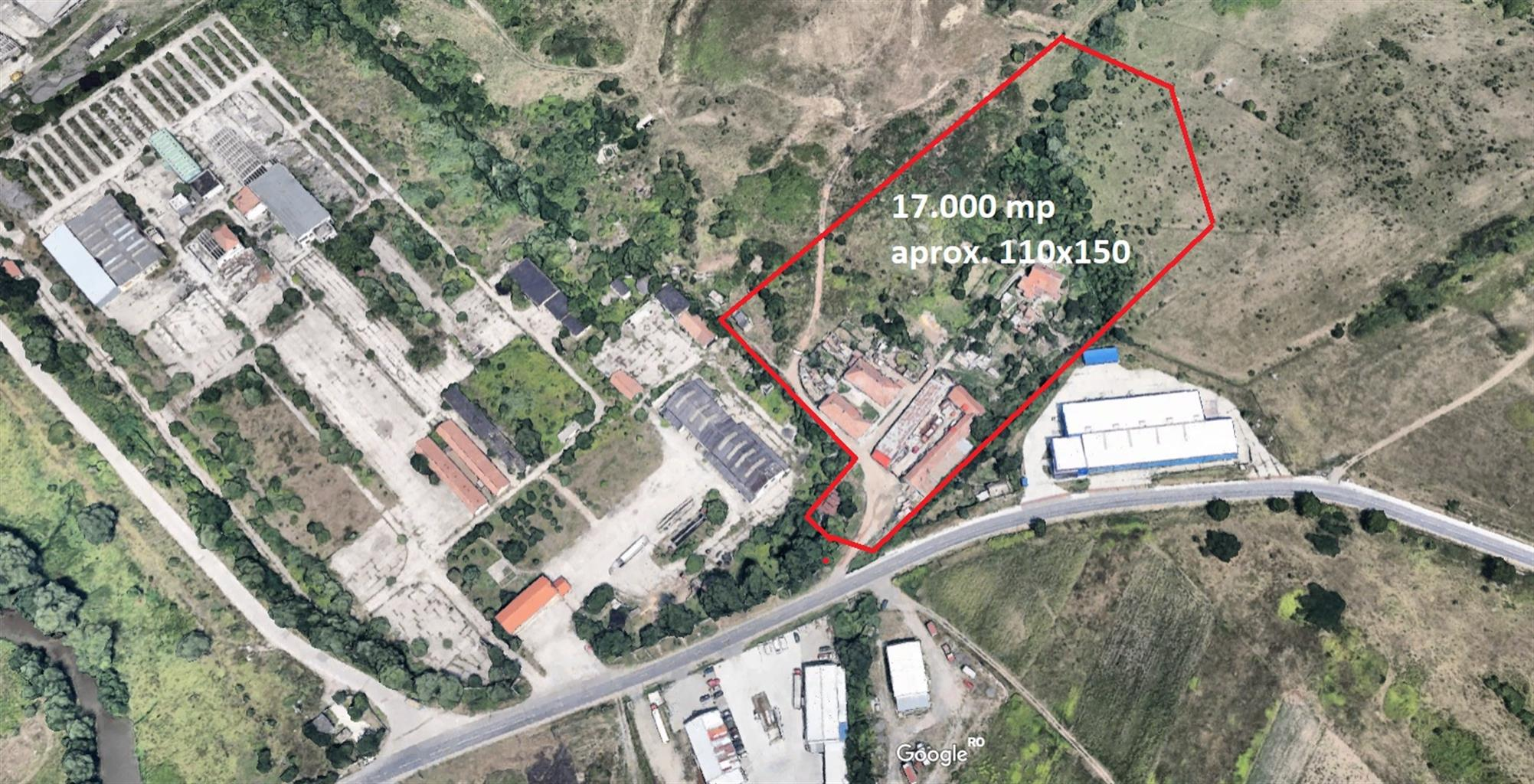 Teren industrial 17000mp zona Est