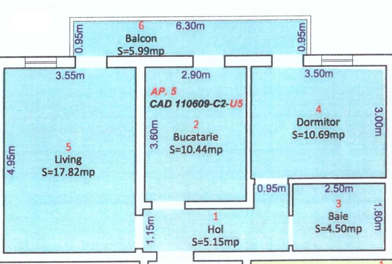 Apartament 2 camere decomandat zona Ciresica