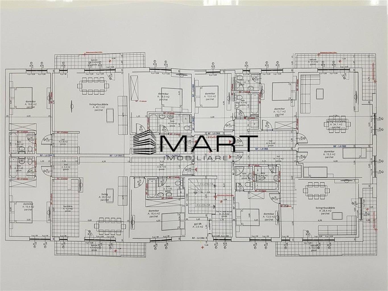 Apartament 3 camere 97 mp utili zona Calea Dumbravii
