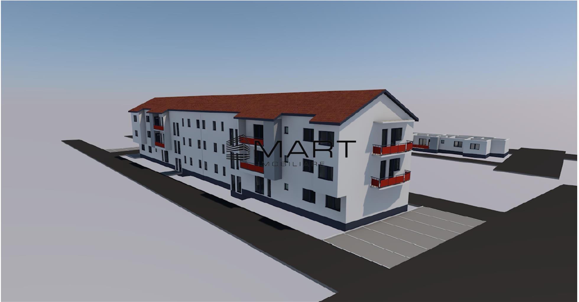 Apartament 2 camere 48 mp utili zona calea Cisnadiei