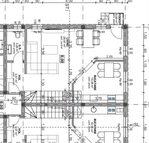 Apartament 4 camere 93 mp utili zona calea Cisnadiei