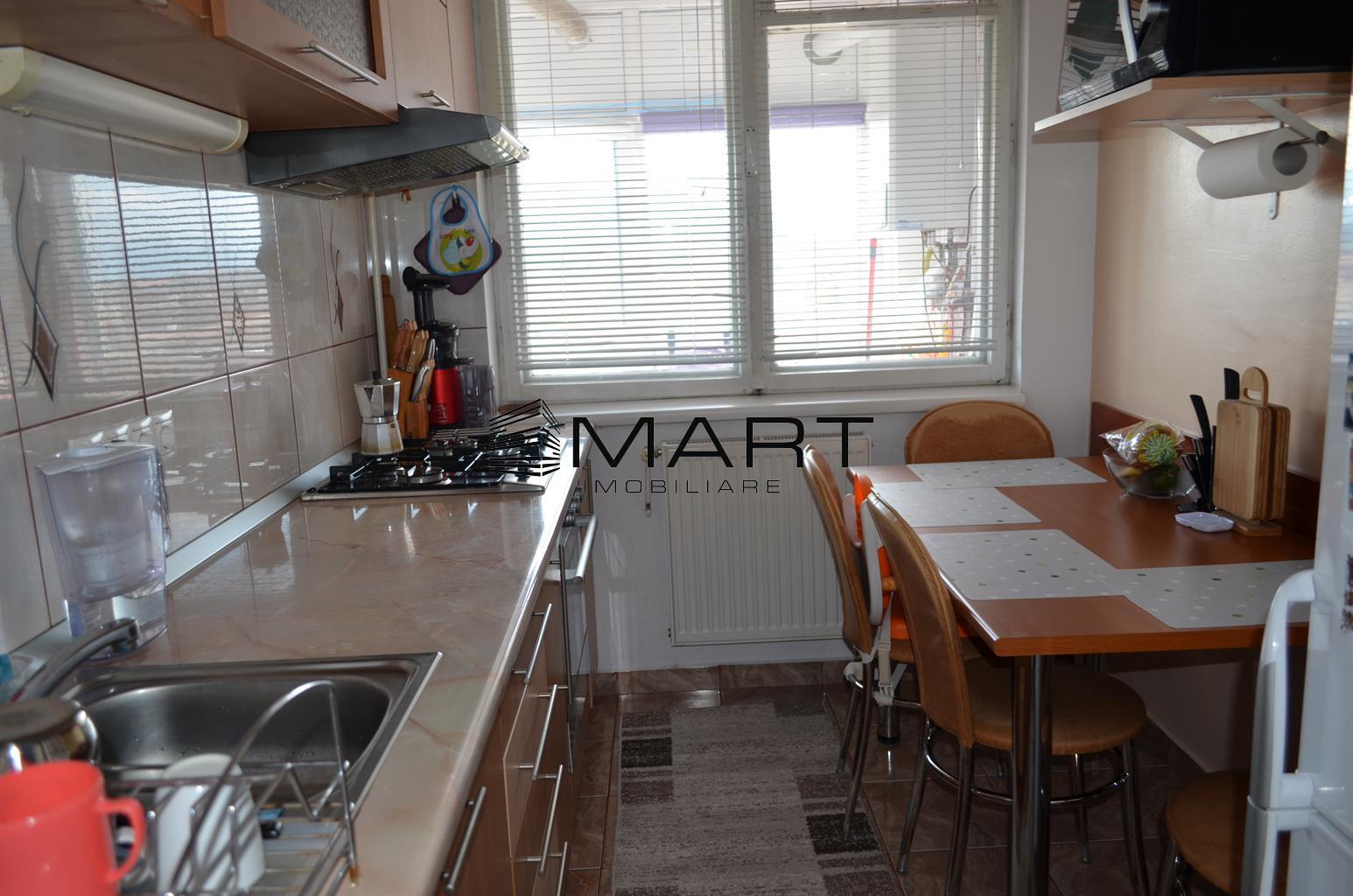 Apartament 3 camere decomandat zona Piata Rahovei