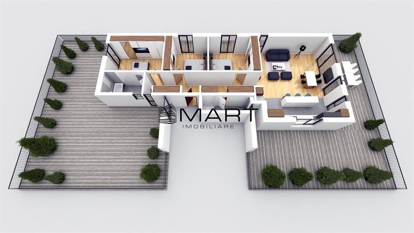 Penthouse de lux zona Brana Selimbar