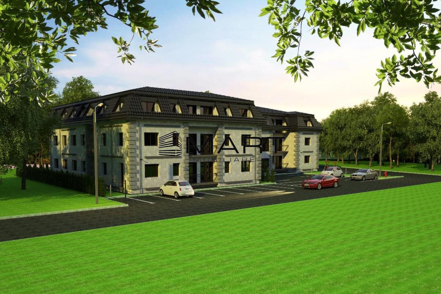 Apartament 2 camere decomandat cu curte Calea Cisnadiei