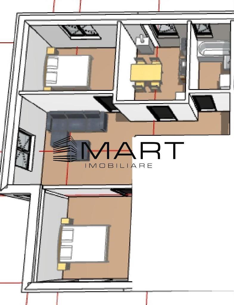 Apartament 3 camere pivnita si gradina