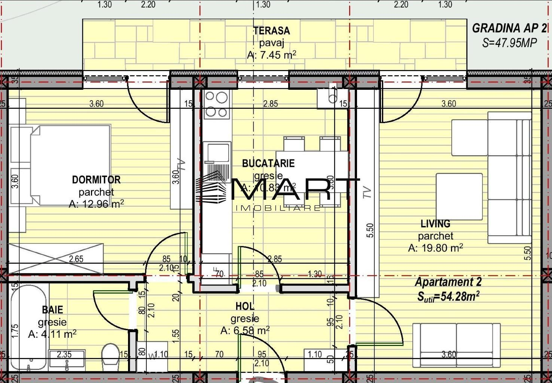 Apartament 2 camere  pivnita + gradina Calea Cisnadiei