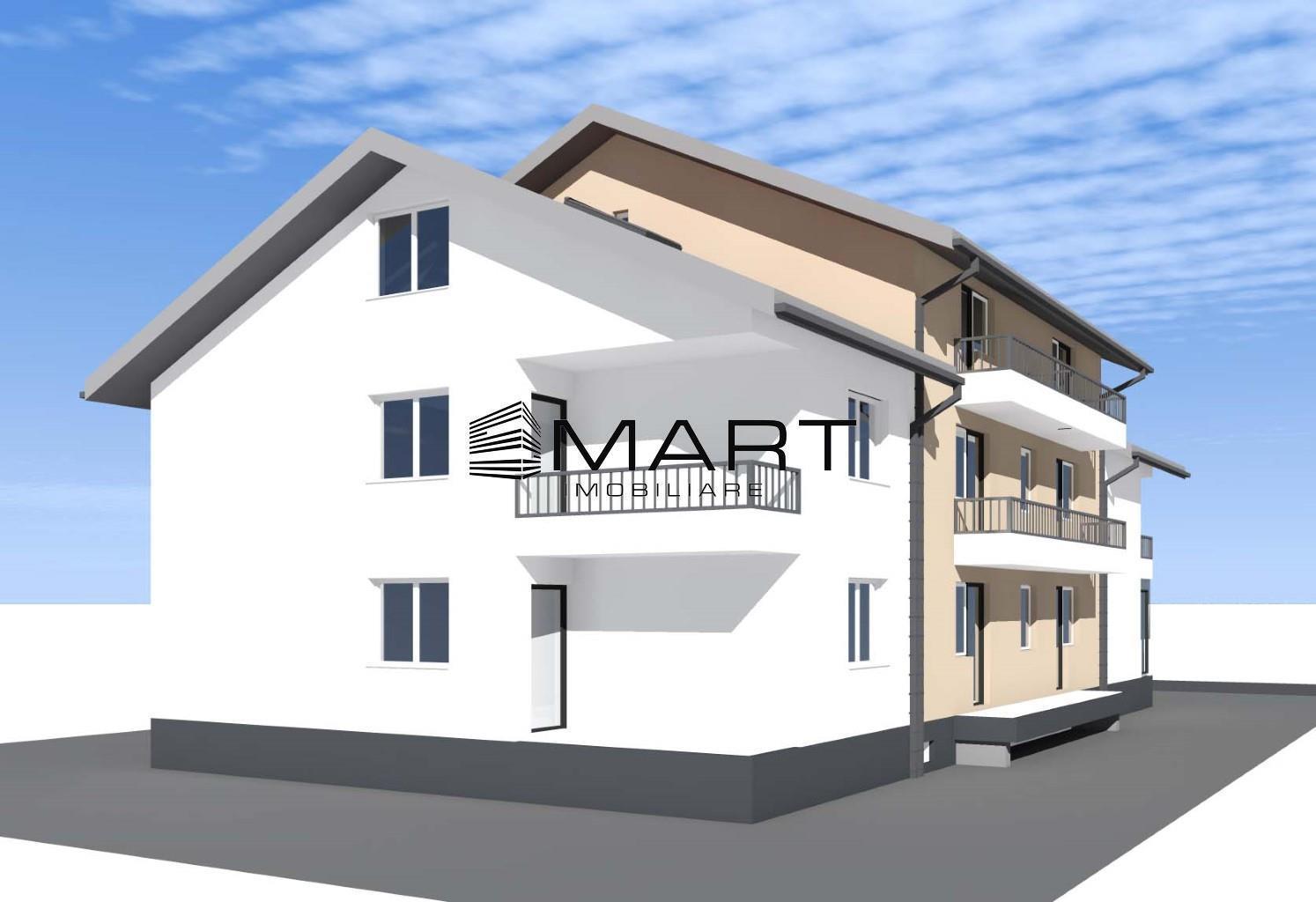 Apartament cu 2 camere + POD zona Calea Cisnadiei